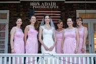 Bridesmaids on Porch