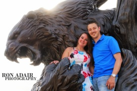 Danielle and Mark Bearcat Love