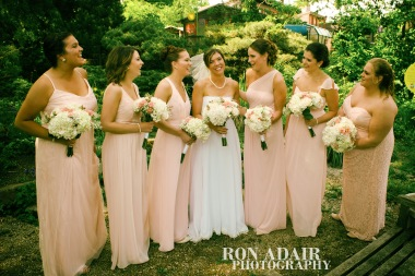 Bridesmaids at Park