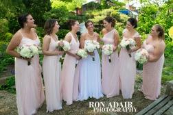 Bridesmaids at Park