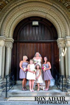 Bridal Party at Spring Grove