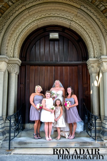 Bridal Party at Spring Grove