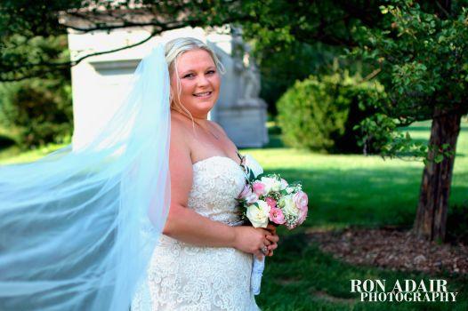 Bridal Pose at Spring Grove