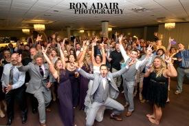 Wedding Reception Group Photo