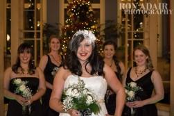 Megan and her bridesmaids