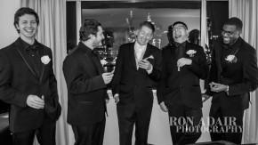 Drew and his groomsmen