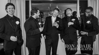 Drew & groomsmen