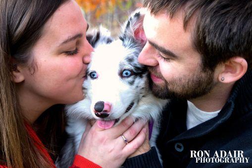 Brittany and Kurt Dog Love