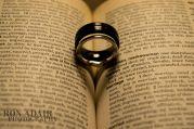 Megan and Drew's rings