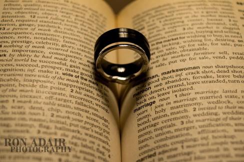 Drew & Megan's rings