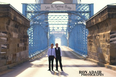 Love on the Roebling Bridge