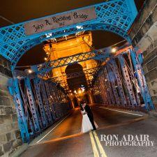 Midnight on the Roebling Bridge
