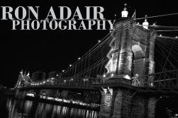 John Roebling Bridge at Midnight