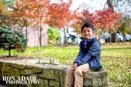 Six Year Old Leivi Fall Pose