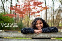 Nine-year-old Nayah at Nesbit Park