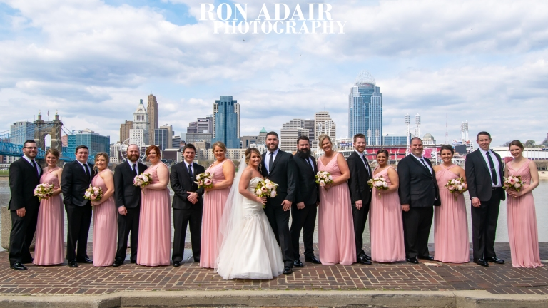 Bridal Party Skyline