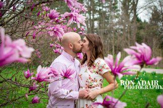 Purple Flower Kiss