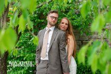 Newlyweds Under Tree